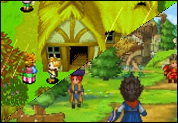 Golden Sun and Dragon Quest IX